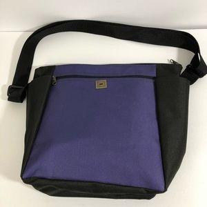 The Perfect Pocketbook Purple Tote w/Black…